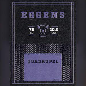 Eggens 75cl – Quadrupel Vintage 2019
