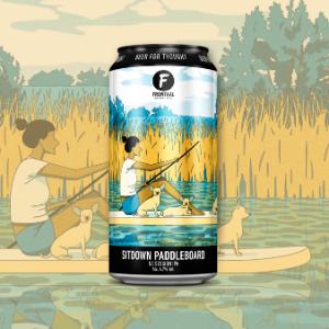 Frontaal/Poolside – Sitdown Paddleboard
